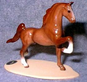 Horse - Saddlebred On Base