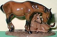 Specialties - Horse - Mustang W/Colt